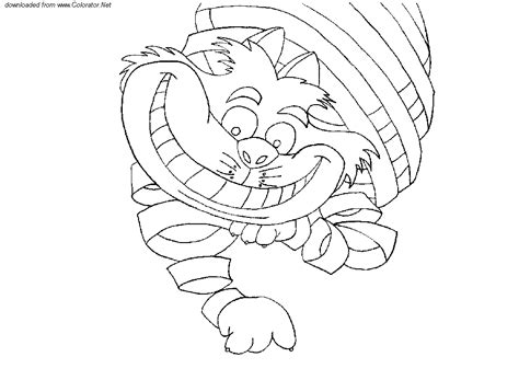 coloring pages of cheshire cat cheshire cat coloring page az coloring pages
