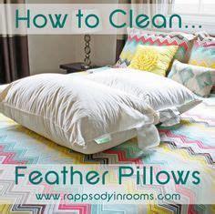 How To Make Pillow Fluffy Again best 25 feather pillows ideas on peacock