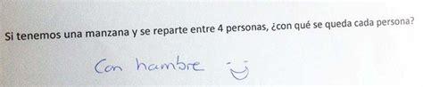 preguntas graciosas de matematicas 25 de las respuestas mas graciosas e ingeniosas en examenes