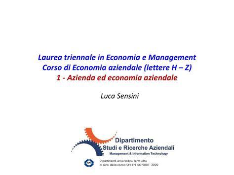 economia aziendale dispense dispensa di economia aziendale azienda ed economia