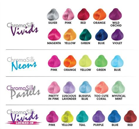 pravana hair color chart 1000 images about chromasilk vivids on pinterest hair