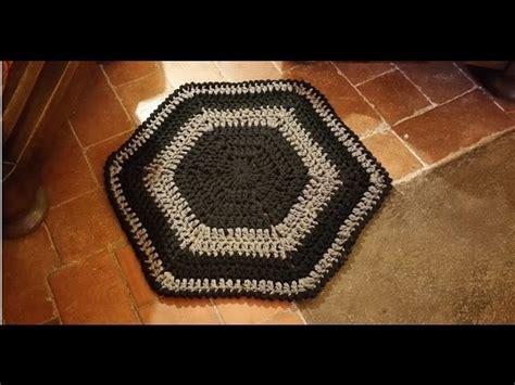tappeto all uncinetto tutorial tappeto alluncinetto facilissimo alfombra