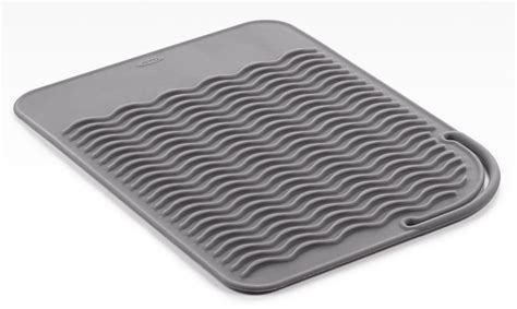oxo flat iron mat in hair dryer holders