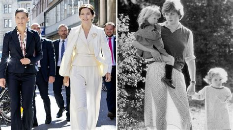 Celebrities Homes by Princess Mary S Chic But Sheer Diana Fashion Moment