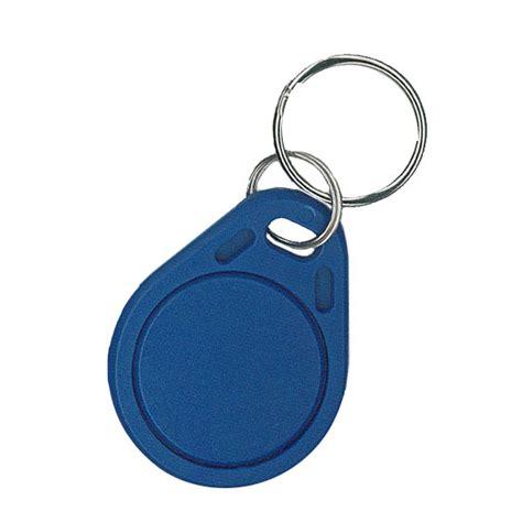 mifare classic 174 1k key fob blue rfid