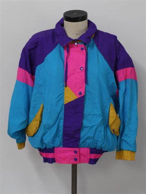 colorful nike jacket jacket retro 90s style colorful vintage windbreaker