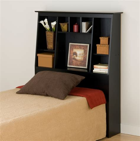 black storage headboard prepac sonoma black tall twin storage headboard