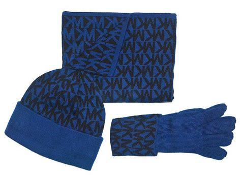 michael kors s signature knit scarf hat gloves 3
