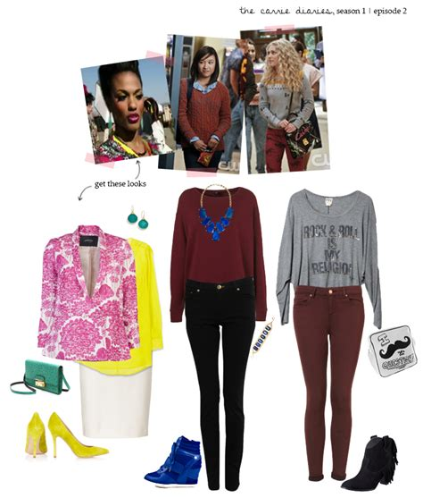 Carrie Diaries Wardrobe by Get The Look The Carrie Diaries Lie To Me