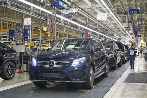 Mercedes In Alabama by Mercedes To Launch Electric Vehicle Production In 1b