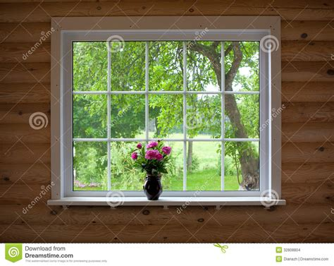 What To Put On A Window Sill Peony Flowers On Window Sill Stock Images Image 32808804