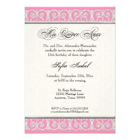 quinceanera invitation wording