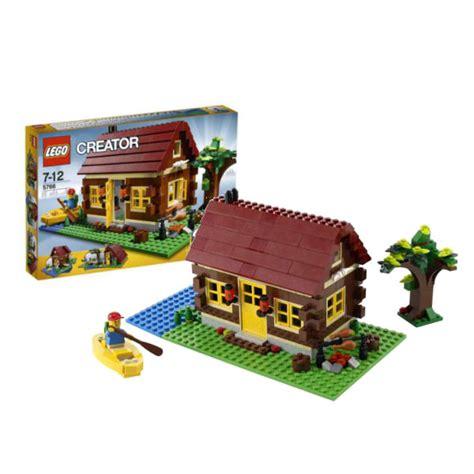 lego log cabin lego creator log cabin 5766 toys thehut
