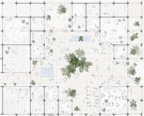 ui pattern master detail sou fujimoto designs doha masterplan made from modular arches