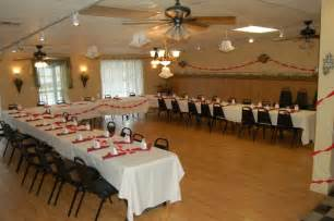 affordable banquet halls affordable wedding reception venues rustic white painted furniture