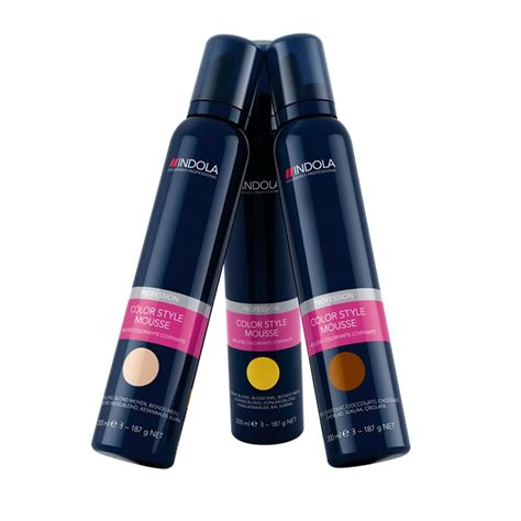 hair color mousse indola profession colour mousse salon supplies