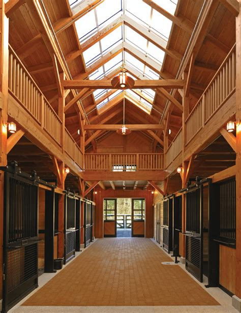 Stable Design Ideas beechwood stables garage and shed boston by gleysteen architects