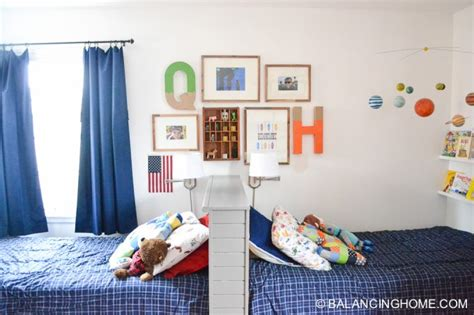 Shared Bedroom And Boy Shared Boys Bedroom Balancing Home With Megan Bray