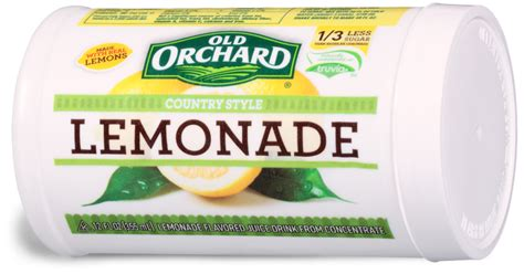 country style lemonade frozen country style lemonade orchard brands