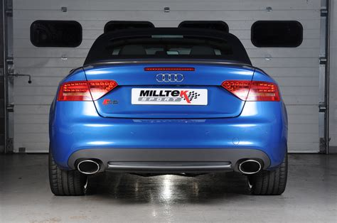 audi s4 milltek exhaust audi s5 coup 233 and cabriolet 3 0tfsi quattro s tronic b8