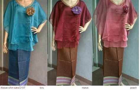 Kain Sifon Korea Bahan Blouse Tunik Gamis Sifon Halus 21 model baju blus dengan kain sifon terbaik fashion
