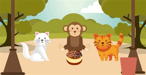 Cat Story monkey and cat story cats
