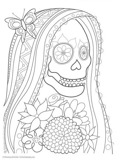 imagenes para colorear ofrendas dia muertos dibujos para colorear el d 237 a de los muertos 8 imagenes