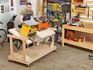 workshop benches and tool storage flip top bench woodworking plan for the space starved