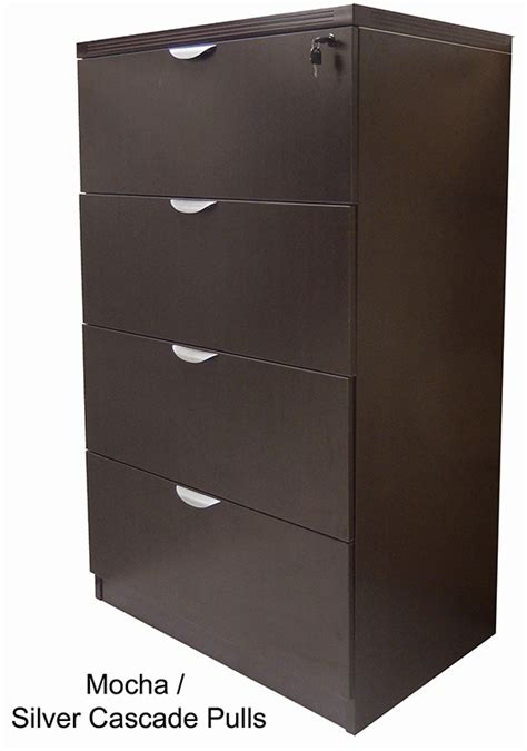 Laminate Drawers by 4 Drawer Laminate Lateral Files In Stock