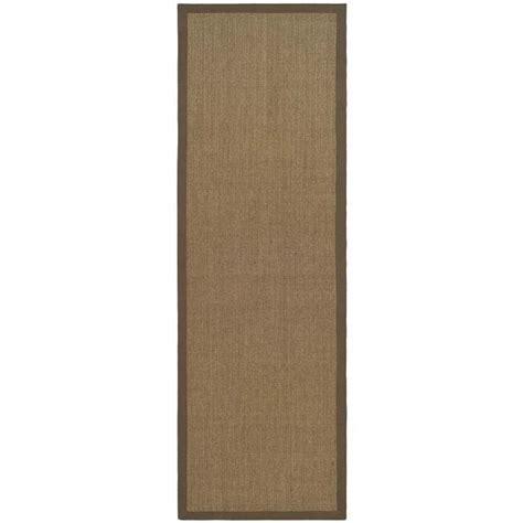 fiber rug runners safavieh fiber brown area rug runner 2 6 quot x 6 nf441c 26
