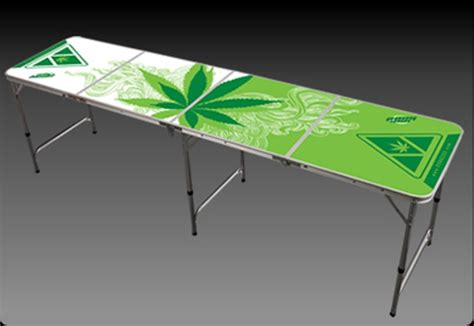 regulation size pong table thing 1 and thing 2 8 ft greens pong table