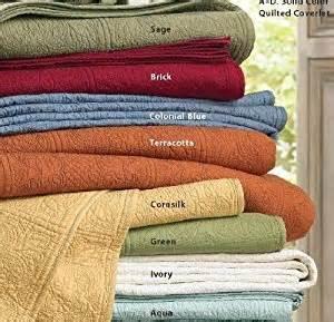c f solid color cotton matelasse quilt