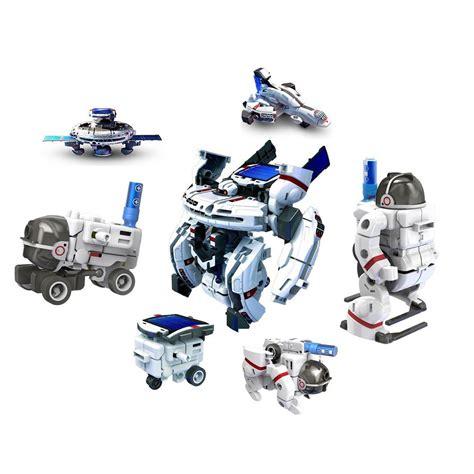 Solar Robot Transformer 3in1 discovery 7 in 1 solar rechargeable space fleet transformer robot astronaut