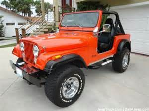 Used Jeep Cj7 For Sale Jeep Cj7 For Sale Ebay Release Date Price And Specs