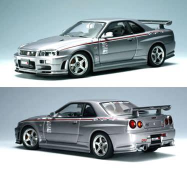 859956 Tomica Reg 23 Nissan Gt R Silver 楽天市場 オートアート 1 18 スカイライン r34 gt r nismo s tune スパークリングシルバー カーホビーショップ アンサー