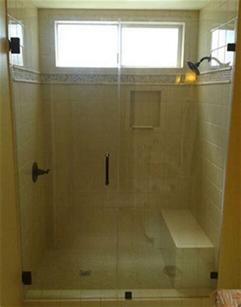 shower door liner custom frameless glass shower doors by a glass company