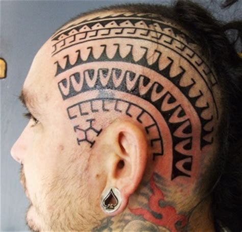 pattern head tattoo head tattoos tattoo insider