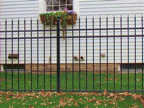 home depot decorative fence decorative aluminum fence designs