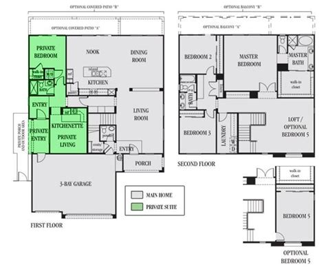 home within a home in suite plans