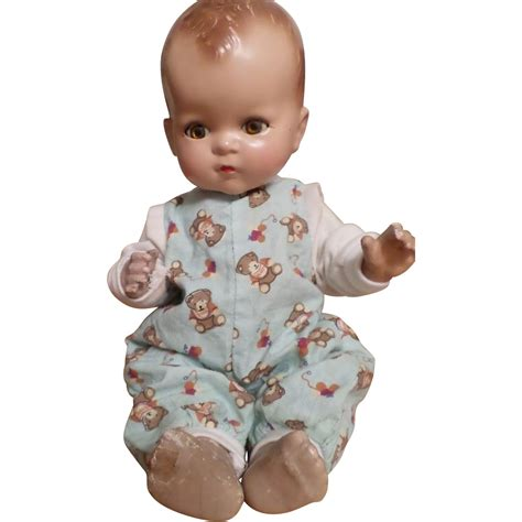 composition baby doll vintage composition baby doll from atticangel on ruby