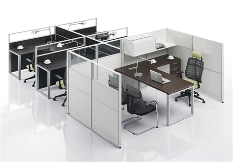 Lab Floor Plan modern modular workstation for 4 staffs and 1 manager