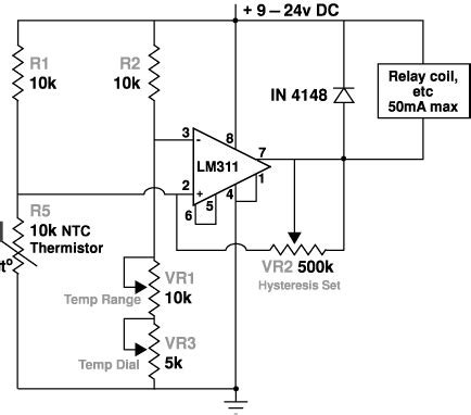 craig s thermostat circuits