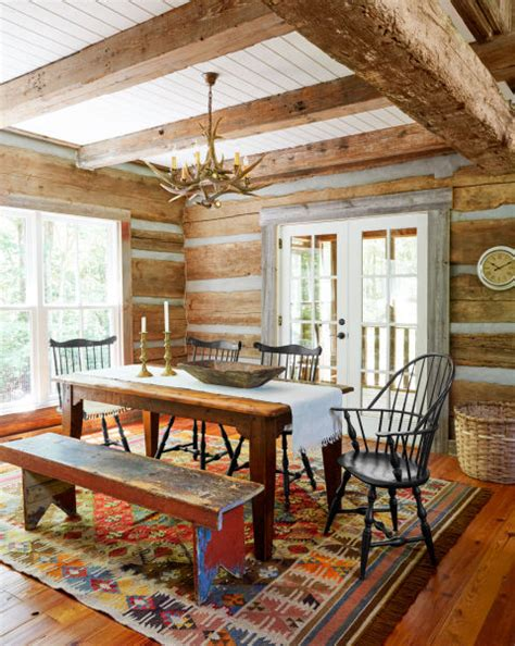 Log Cabin Bedroom Decorating Ideas this newly designed log cabin looks like an authentic part