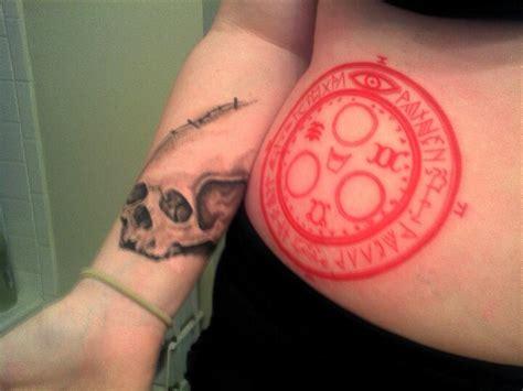 silent hill tattoo silent hill halo of the sun buddhist skull tattoos mine