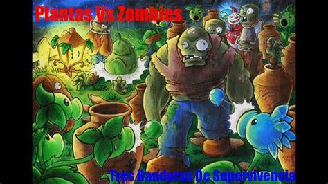 imagenes wallpapers de zombies plantas vs zombies 3 banderas de supervivencia youtube