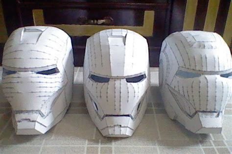 How To Make Iron Helmet With Paper - how to make a ironman helmet out of paper 28 images an