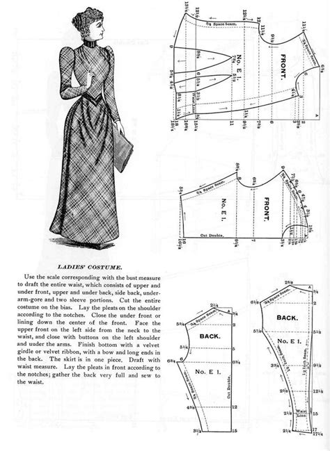 sewing pattern victorian skirt 181 best historical victorian 1840 1900 sewing patterns