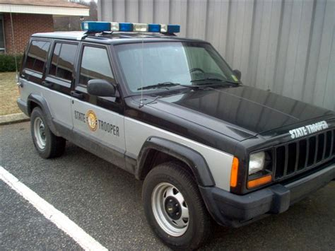 police jeep cherokee npca north carolina division