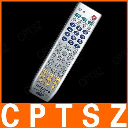 Chunghop Remot Kontrol Universal 3 In 1 Rm 88e Black 3 in 1 tv dvd vcd universal remote chunghop rm 88e in remote controls from consumer