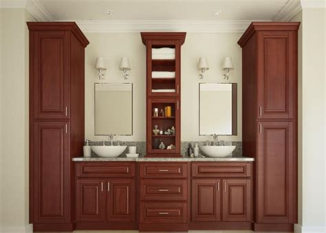 sonoma linen cabinet with her pre assembled bathroom vanities bathroom vanities all